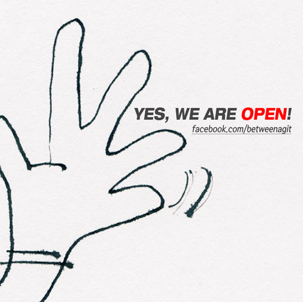 [공지] yes, we are open